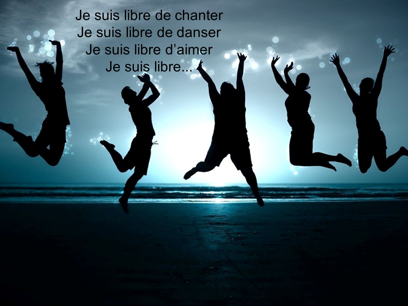 Je suis libre de chanter
