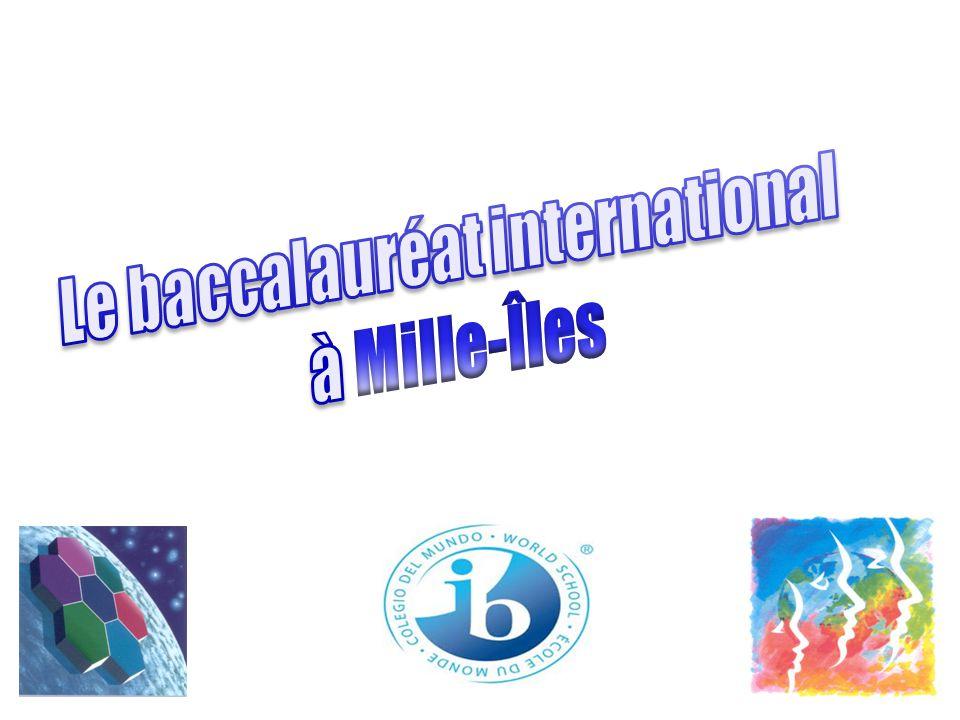 Le baccalauréat international