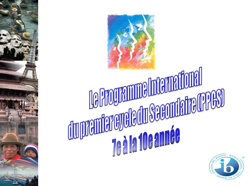 Le Programme International du premier cycle du Secondaire (PPCS)
