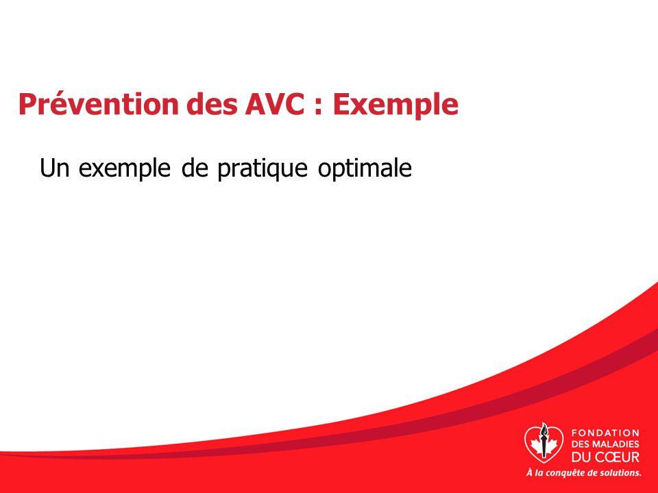 Prévention des AVC : Exemple