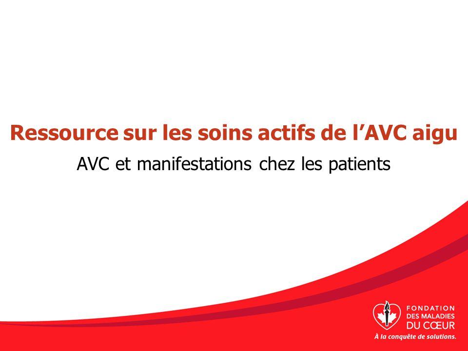 Types d'AVC et anatomie et physiologie de l'AVC aigu