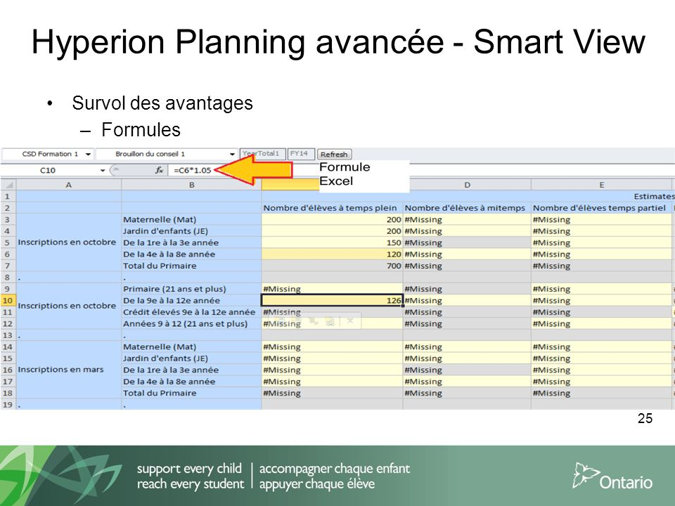 Hyperion Planning avancée - Smart View
