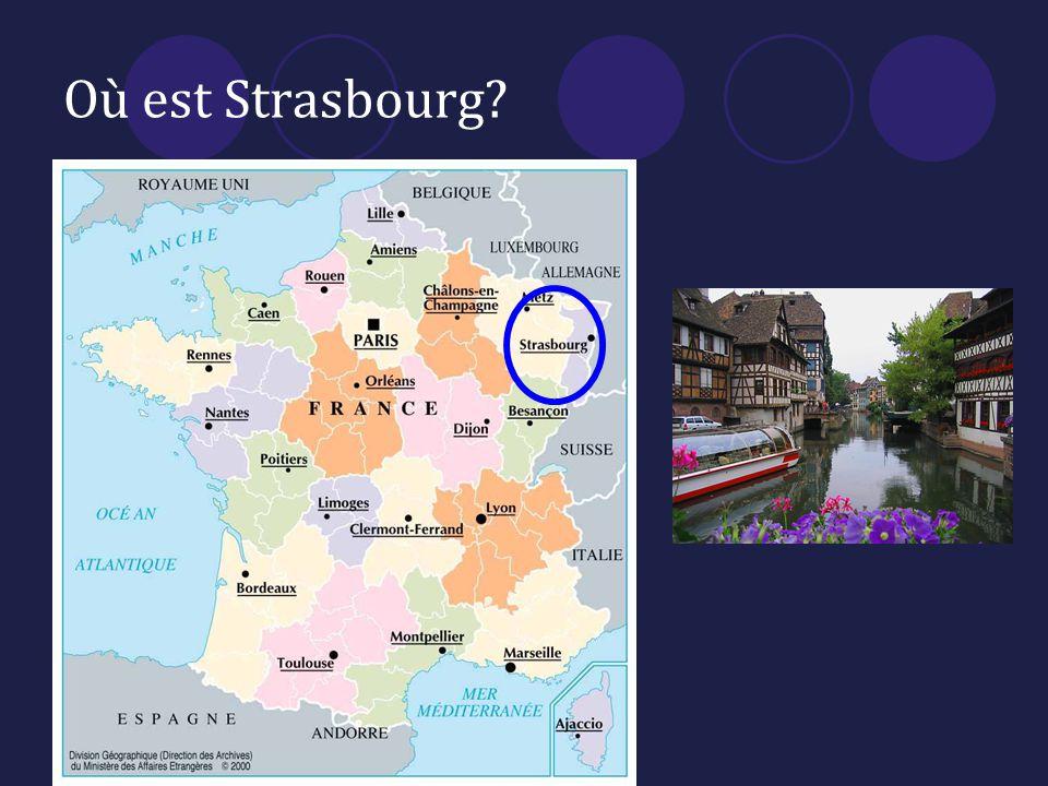 Où est Strasbourg