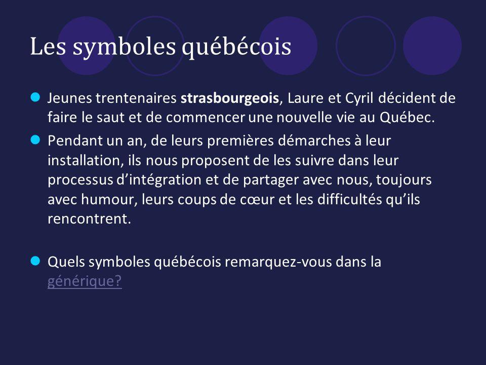 Les symboles québécois
