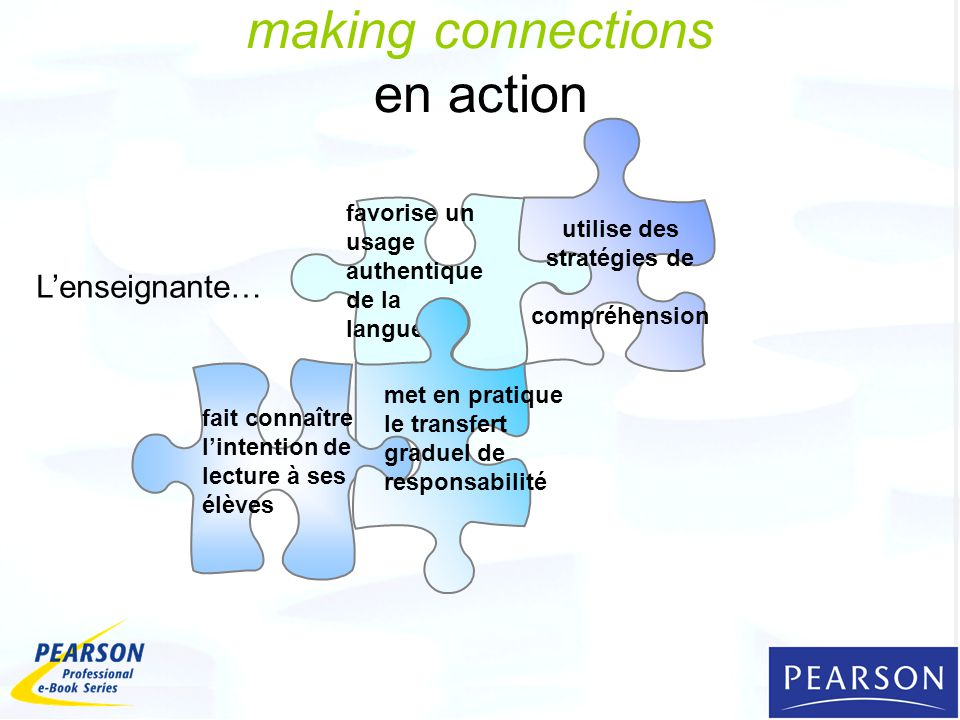 making connections en action