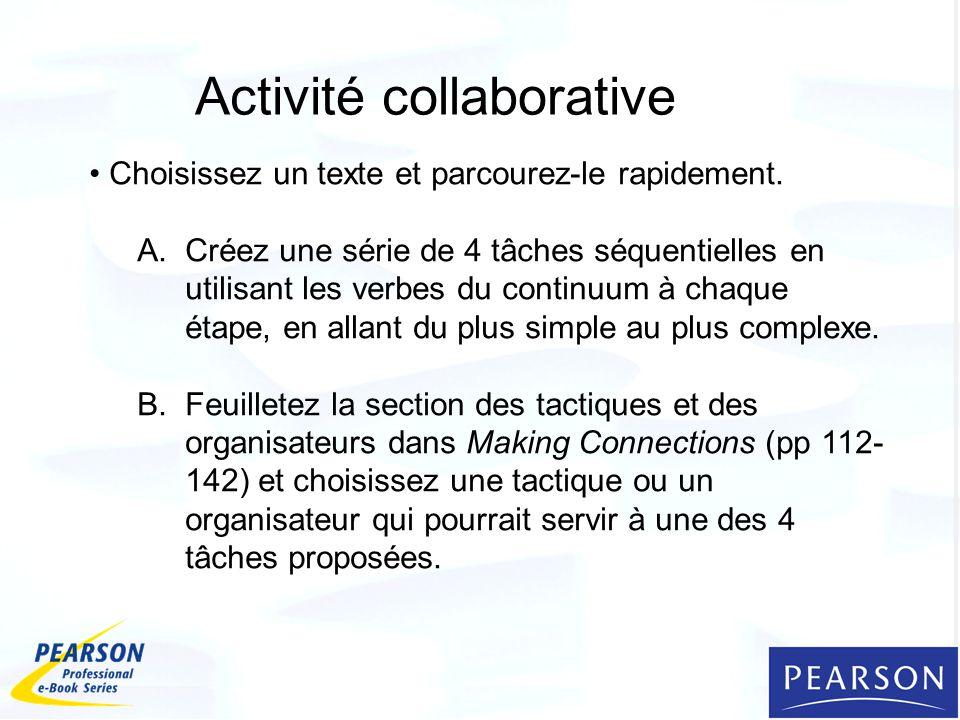 Activité collaborative