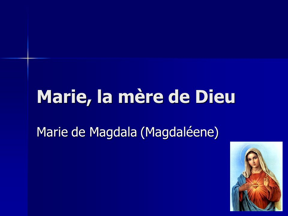 Marie de Magdala (Magdaléene)