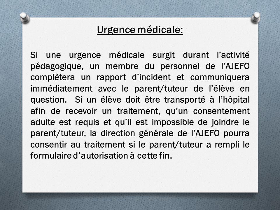 Urgence médicale: