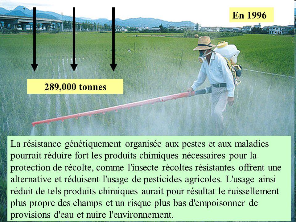 En 1996 289,000 tonnes.