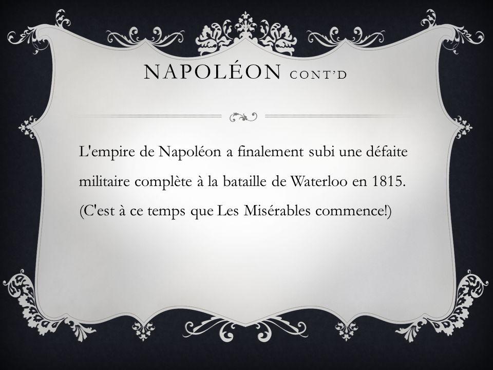 Napoléon cont'd