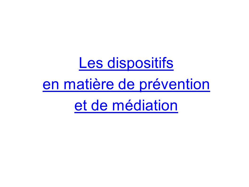 en matière de prévention