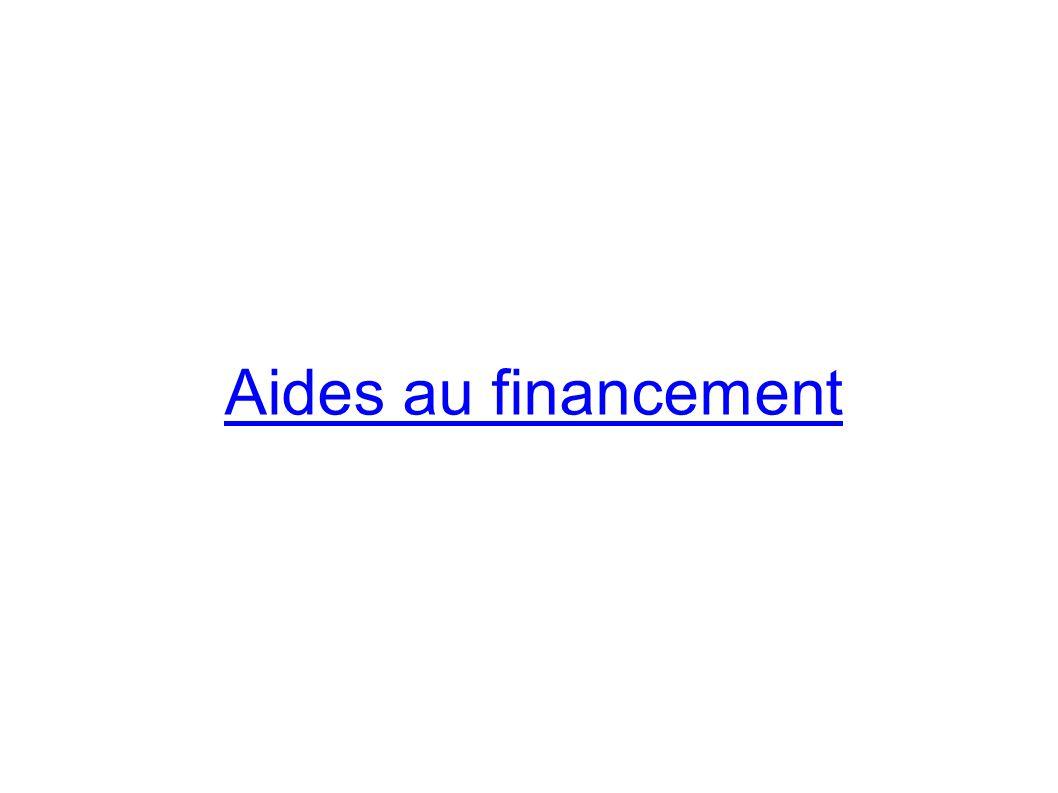 Aides au financement
