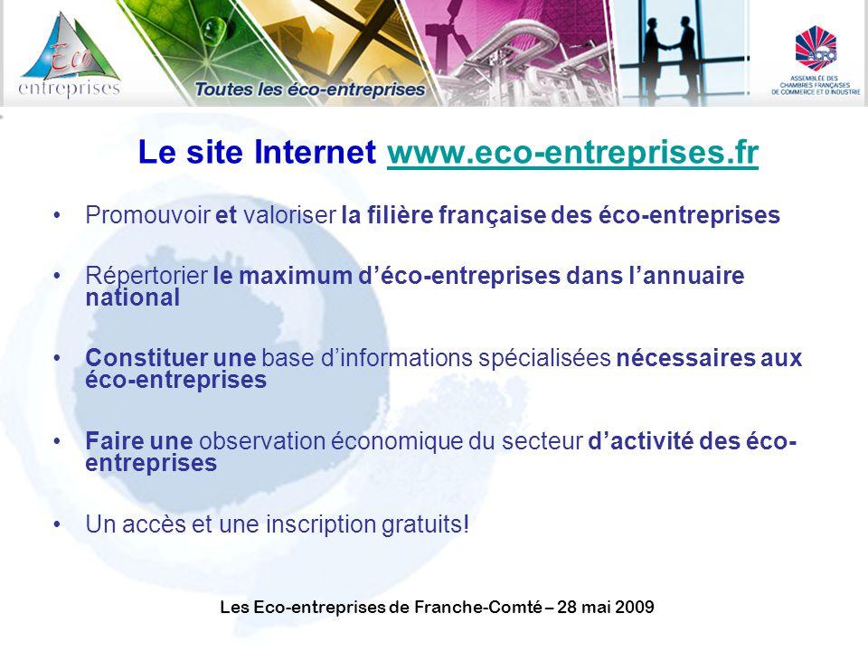 Le site Internet www.eco-entreprises.fr