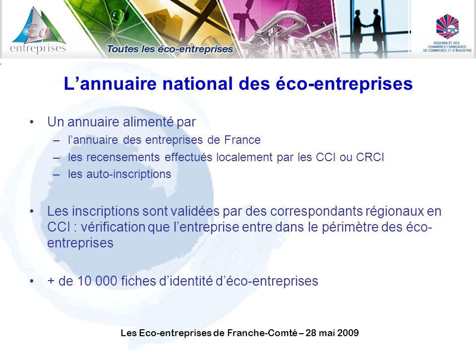 L'annuaire national des éco-entreprises
