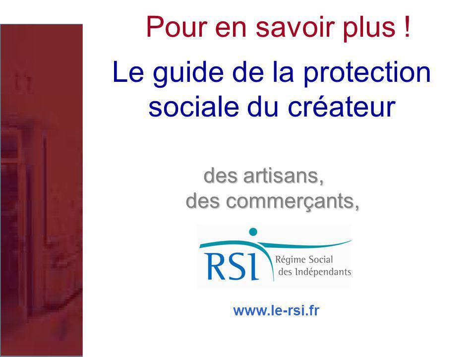 Le guide de la protection sociale du créateur