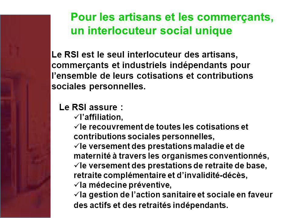 Pour les artisans et les commerçants, un interlocuteur social unique