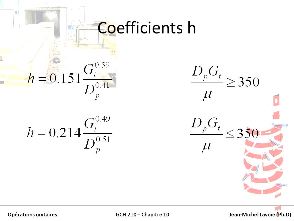 Coefficients h