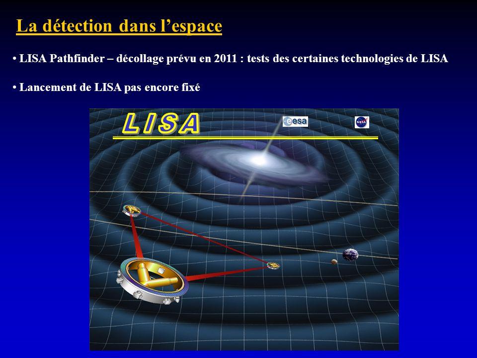 LISA La détection dans l'espace