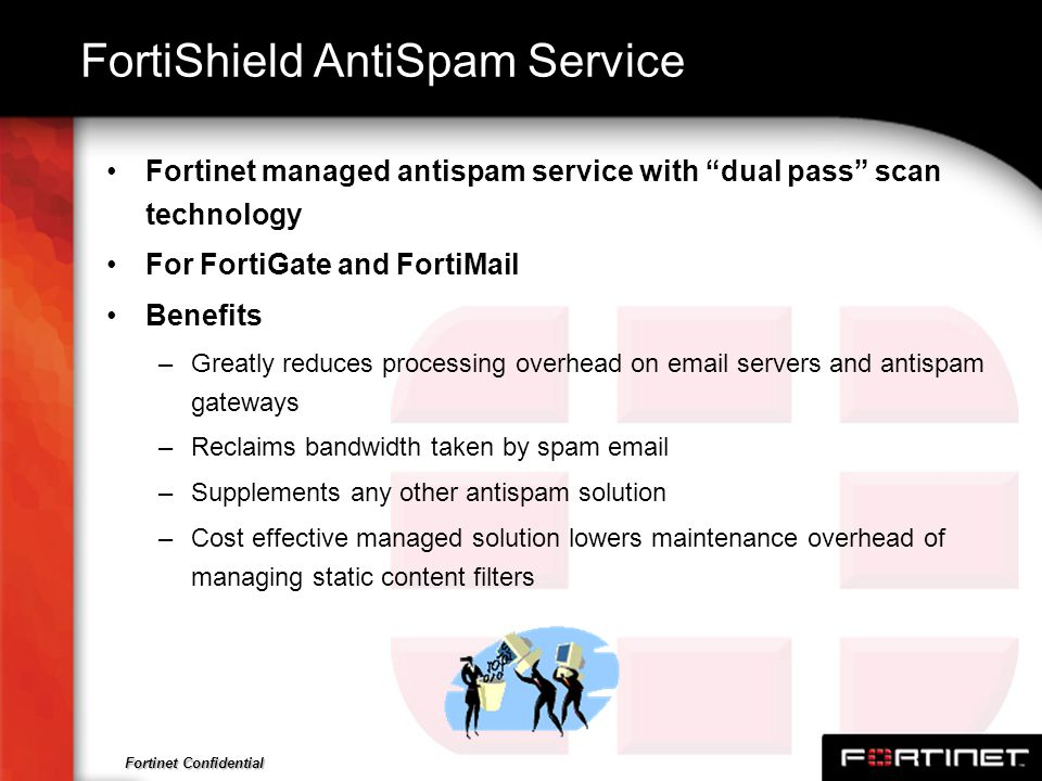 FortiShield AntiSpam Service