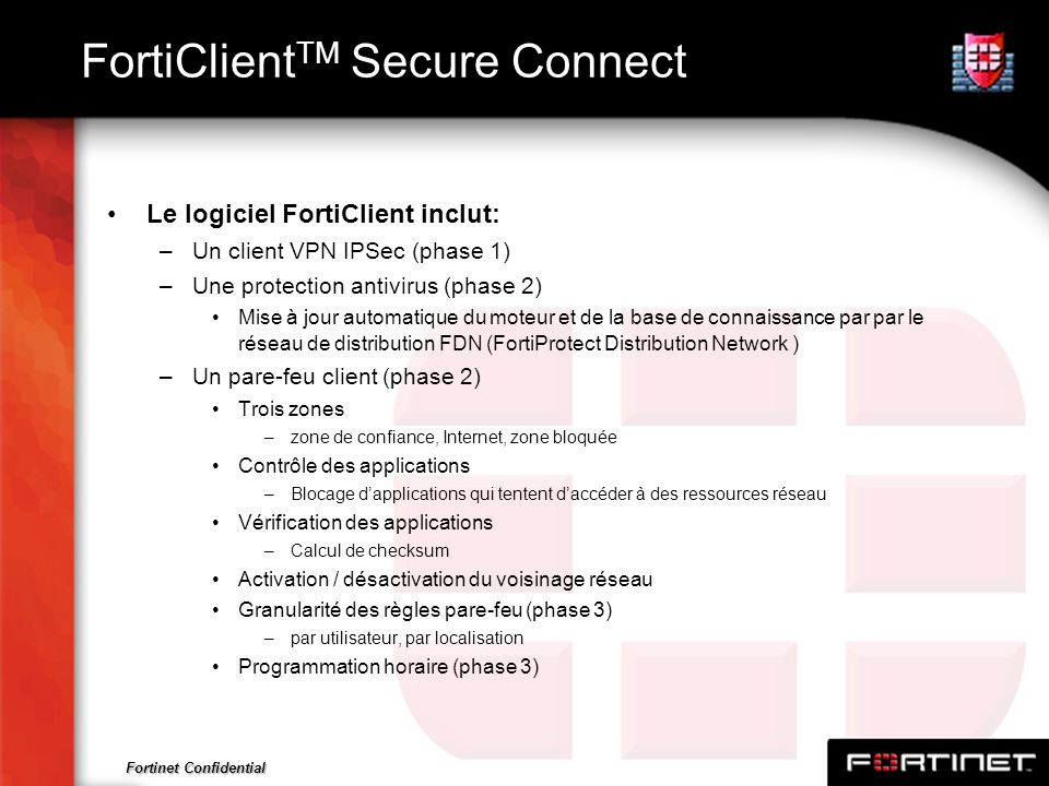 FortiClientTM Secure Connect