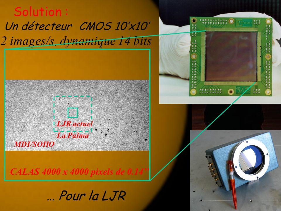 Un détecteur CMOS 10'x10' 2 images/s, dynamique 14 bits
