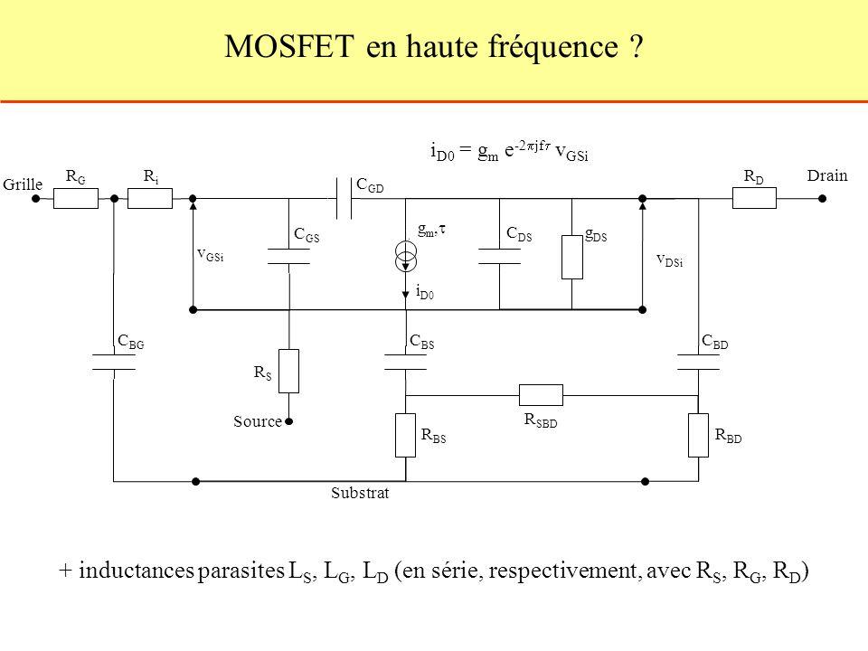 MOSFET en haute fréquence