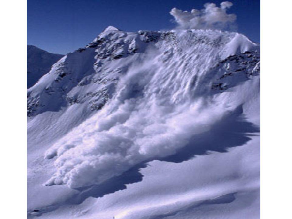 Différents types d'avalanche