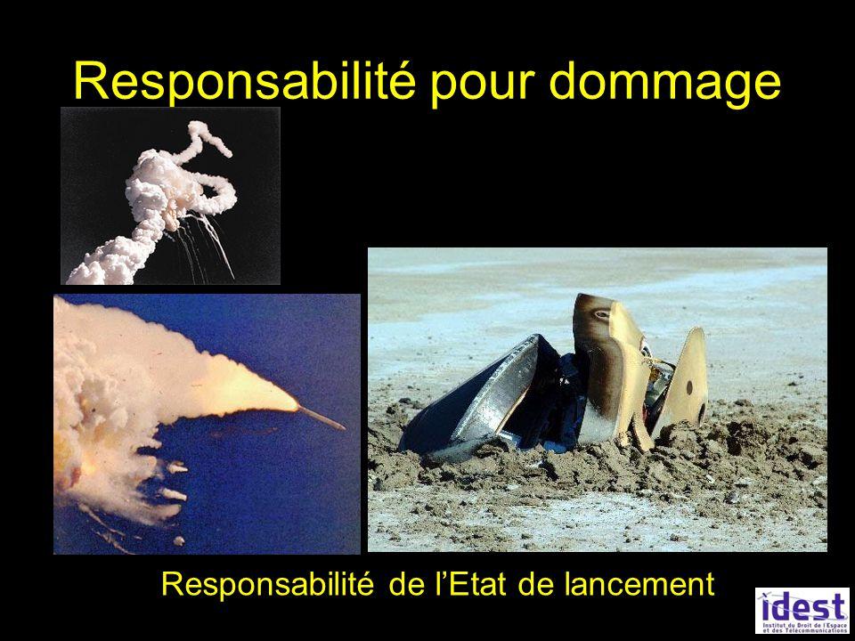 Responsabilité pour dommage