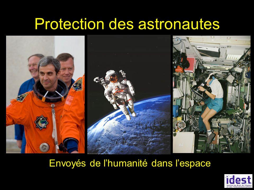 Protection des astronautes