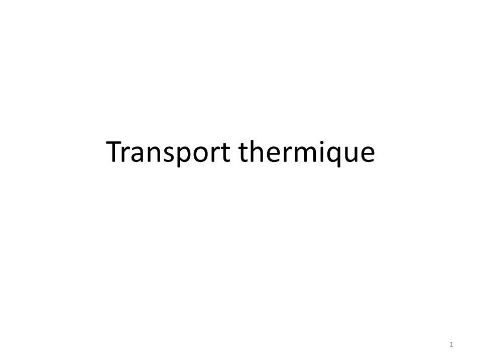 Transport thermique