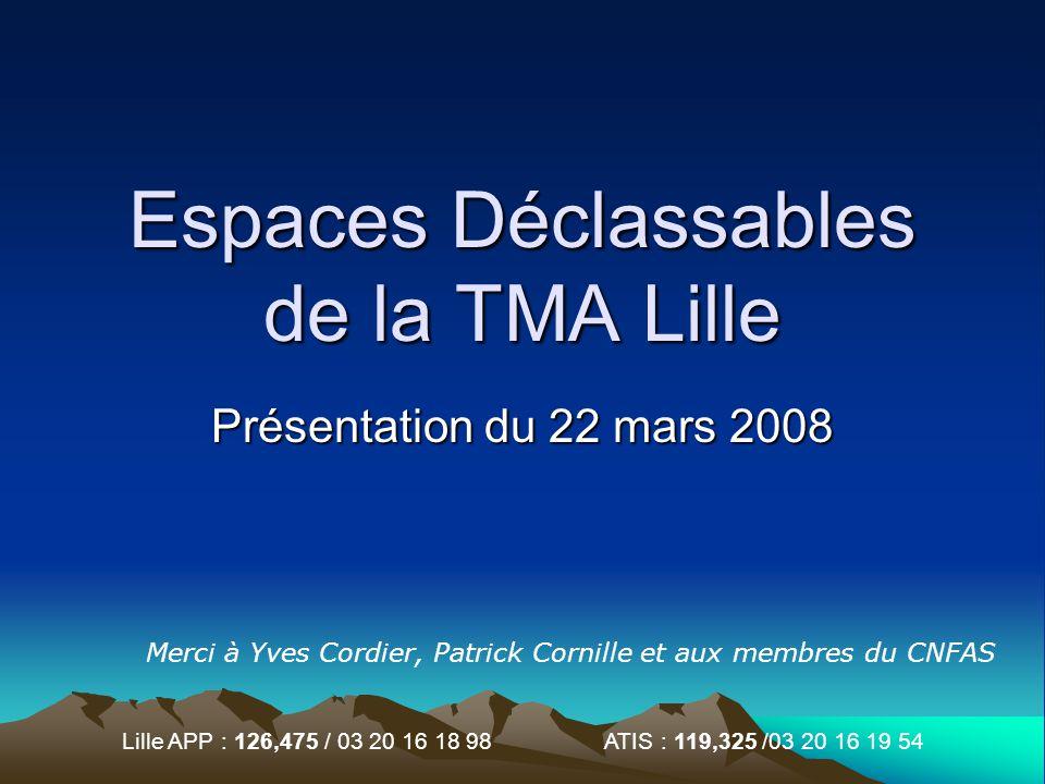 Espaces Déclassables de la TMA Lille