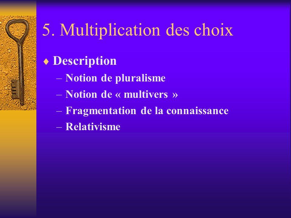 5. Multiplication des choix