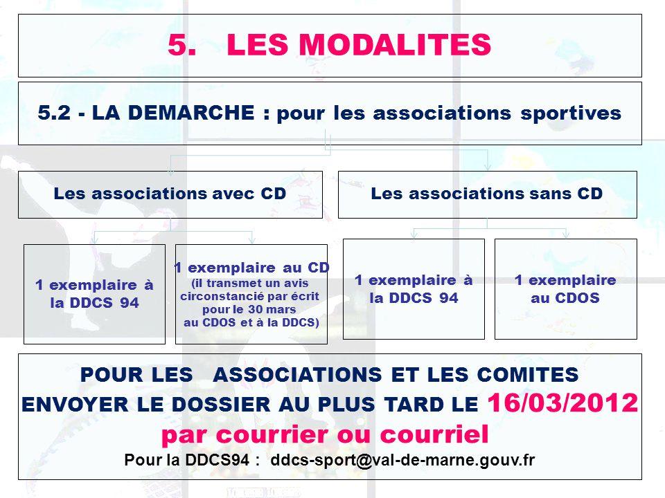 Pour la DDCS94 : ddcs-sport@val-de-marne.gouv.fr