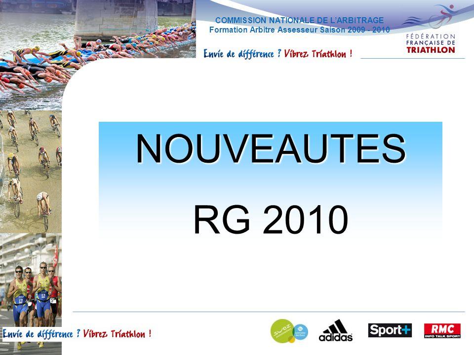 NOUVEAUTES RG 2010