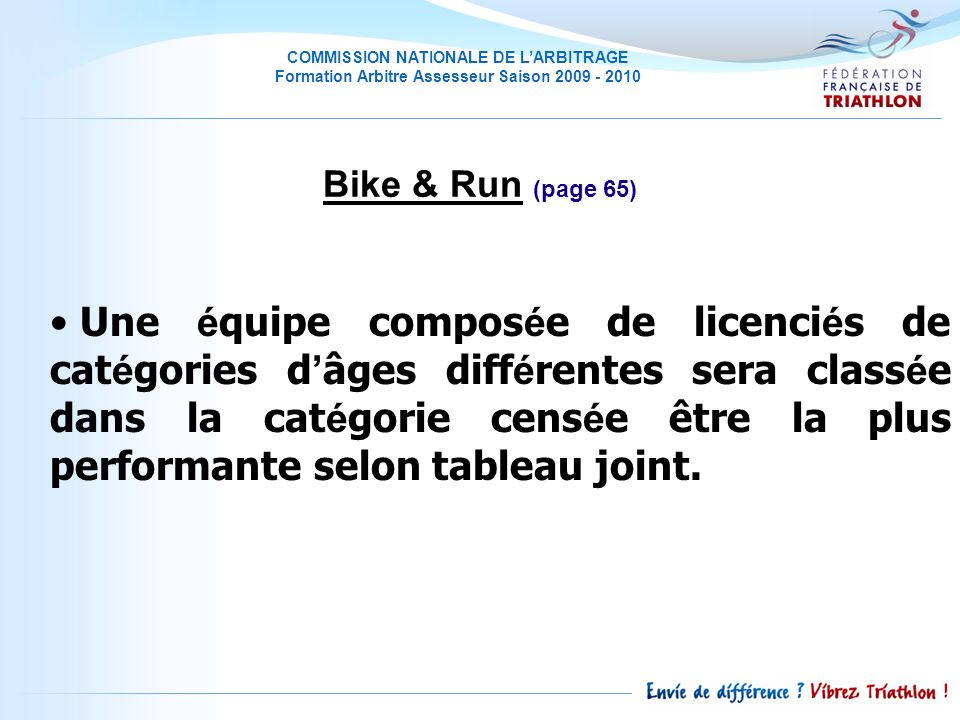 Bike & Run (page 65)