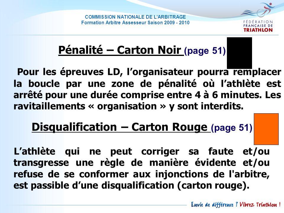 Pénalité – Carton Noir (page 51)