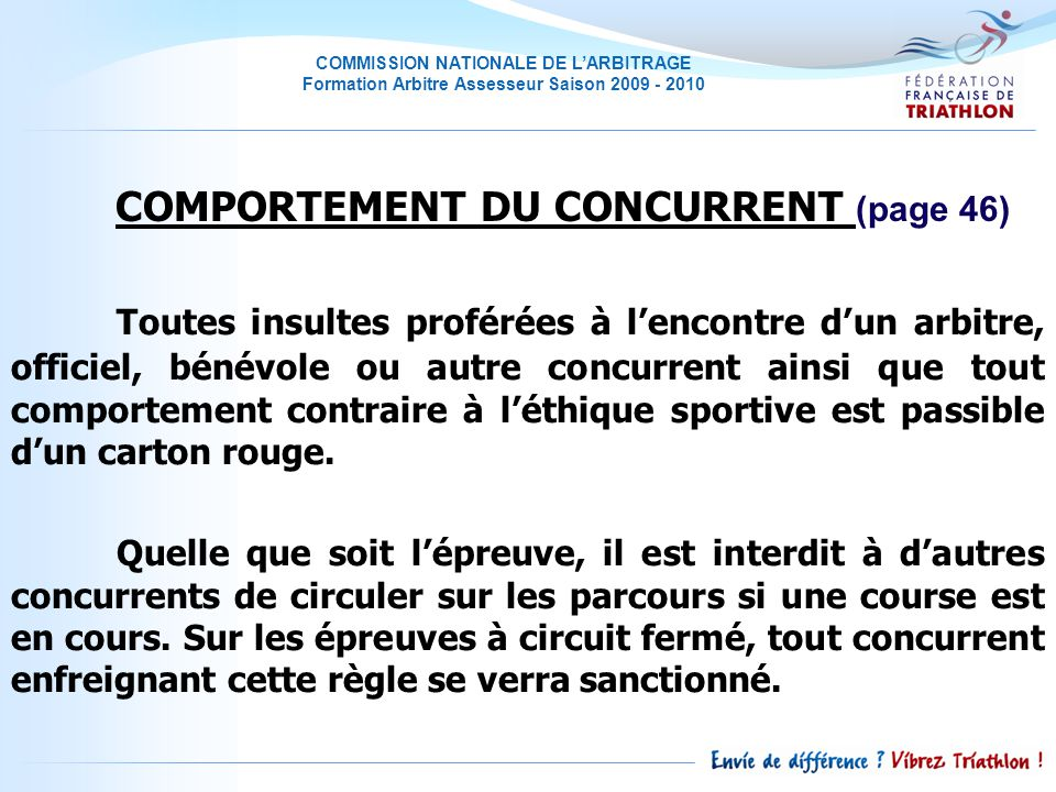 COMPORTEMENT DU CONCURRENT (page 46)