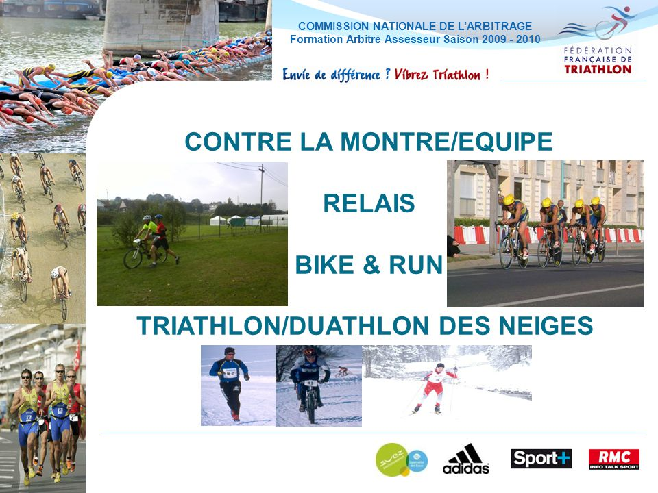 CONTRE LA MONTRE/EQUIPE TRIATHLON/DUATHLON DES NEIGES