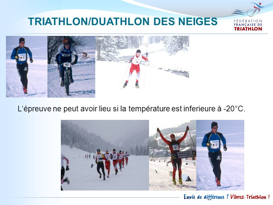 TRIATHLON/DUATHLON DES NEIGES