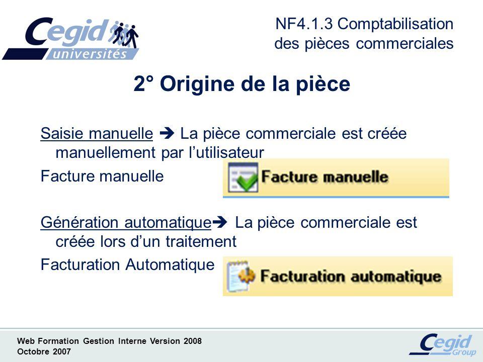 NF4.1.3 Comptabilisation des pièces commerciales