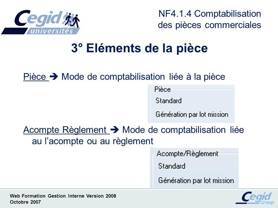 NF4.1.4 Comptabilisation des pièces commerciales