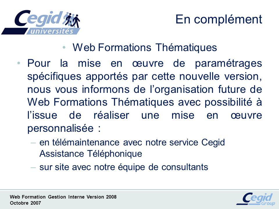 Web Formations Thématiques