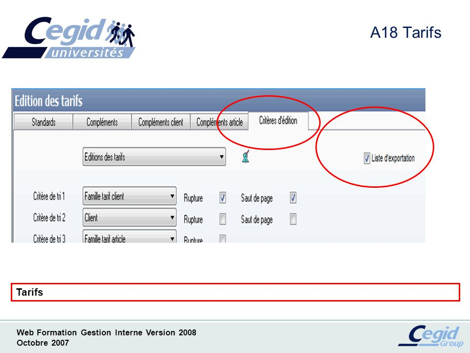 Cegid expert 2008 gestion interne dur e 2 heures ppt - Liste des cabinets d expertise comptable au senegal ...