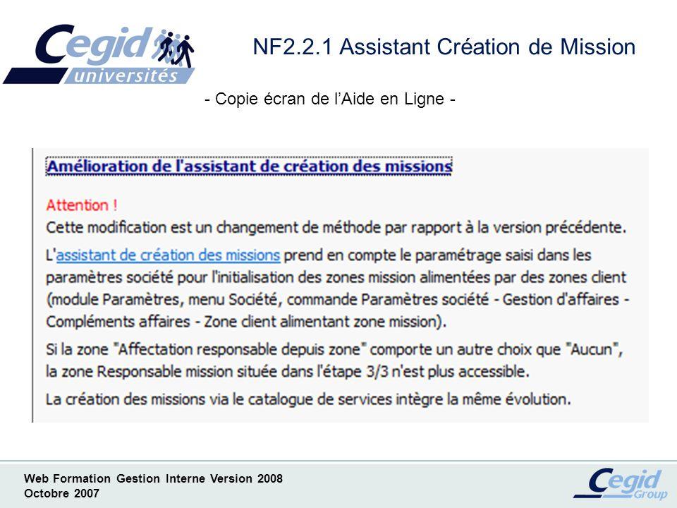 NF2.2.1 Assistant Création de Mission