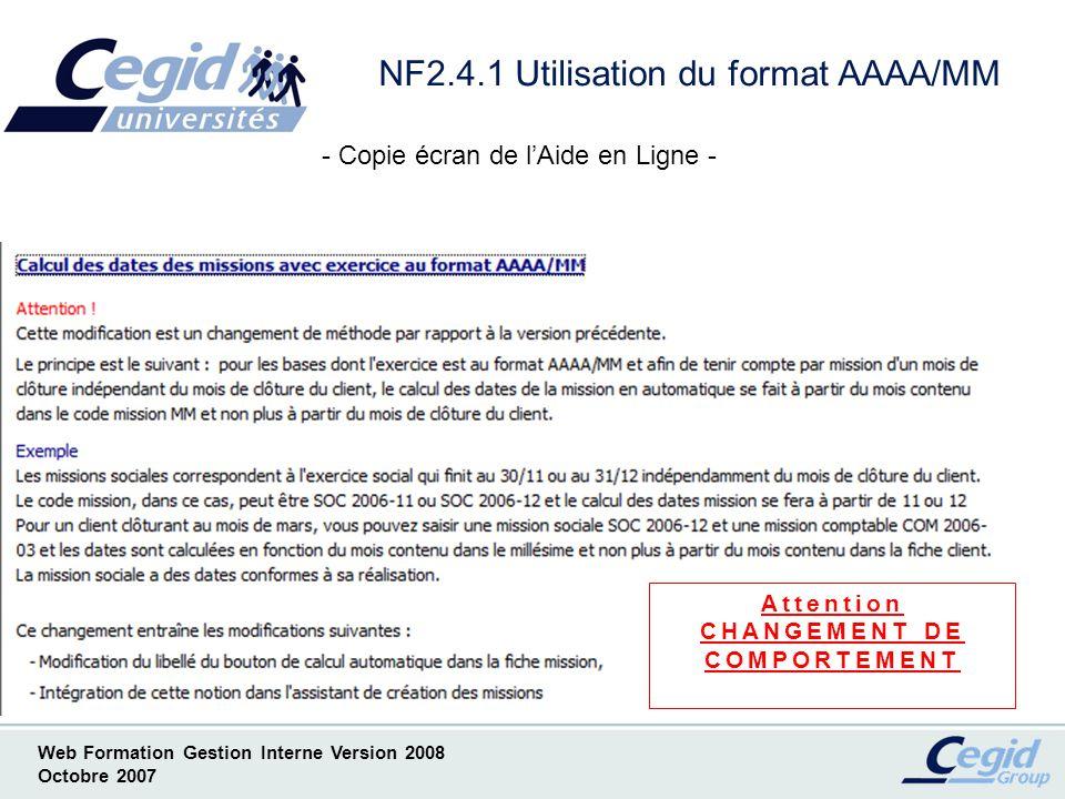 NF2.4.1 Utilisation du format AAAA/MM