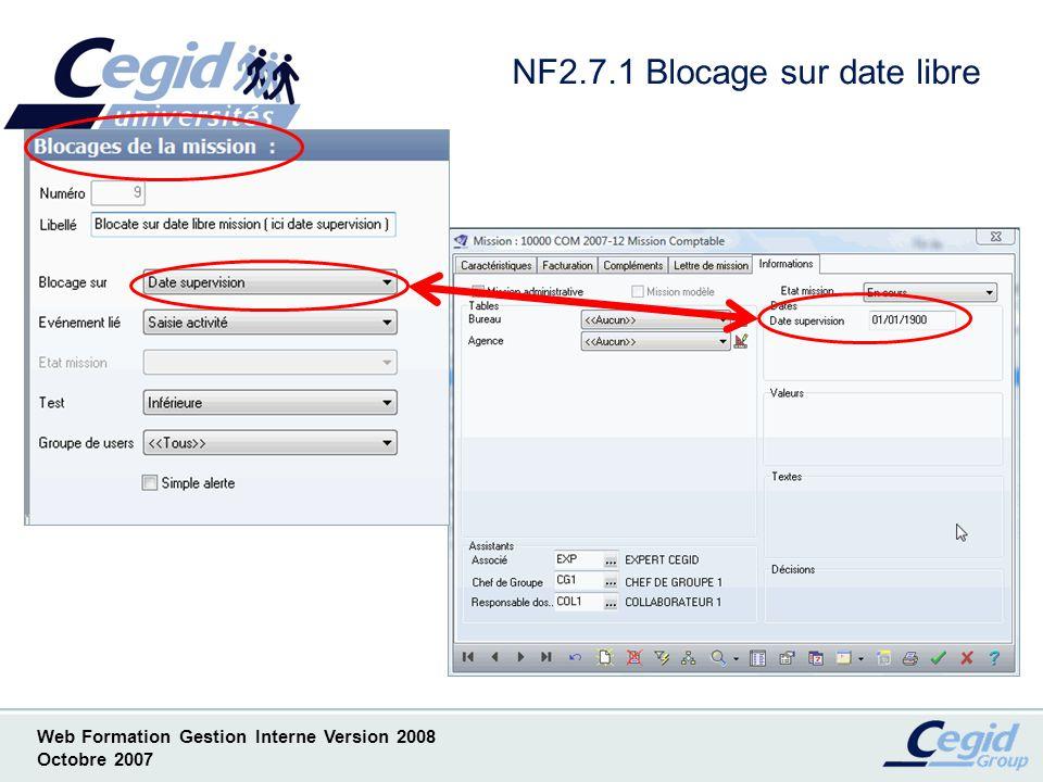 NF2.7.1 Blocage sur date libre
