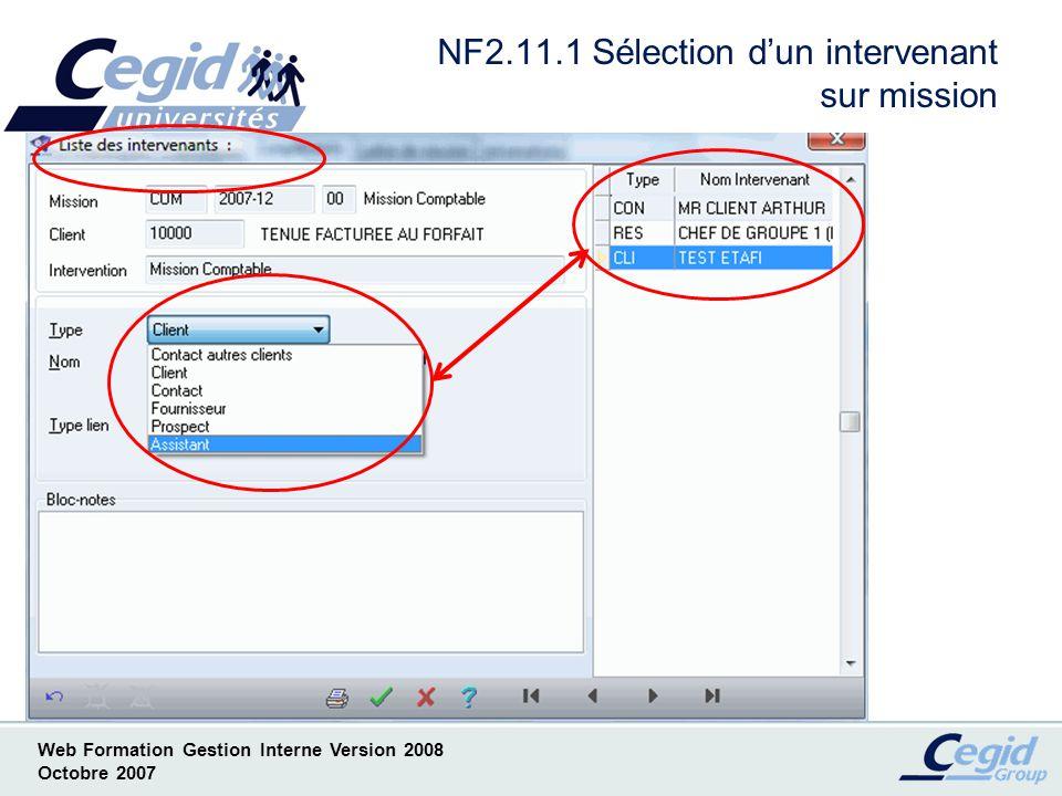 NF2.11.1 Sélection d'un intervenant sur mission