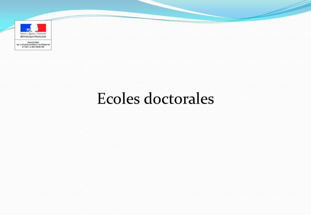 Ecoles doctorales