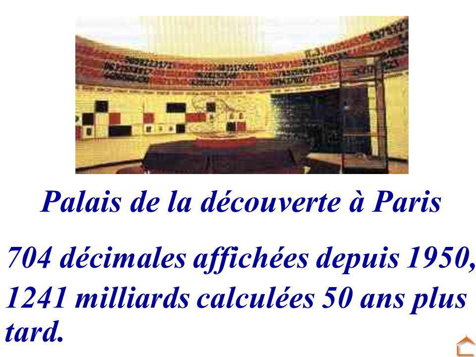 Palais de la découverte à Paris