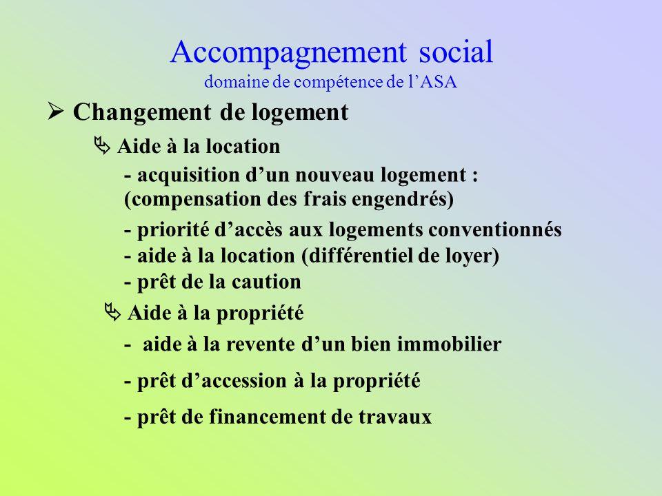 Accompagnement social domaine de compétence de l'ASA